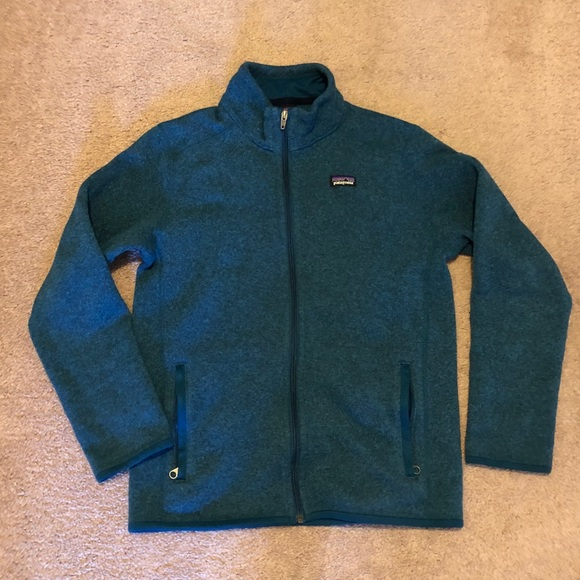 c0144c5893ba Patagonia boys better sweater zip up jacket. M 5be4f716c2e9fe9c5676a0d3